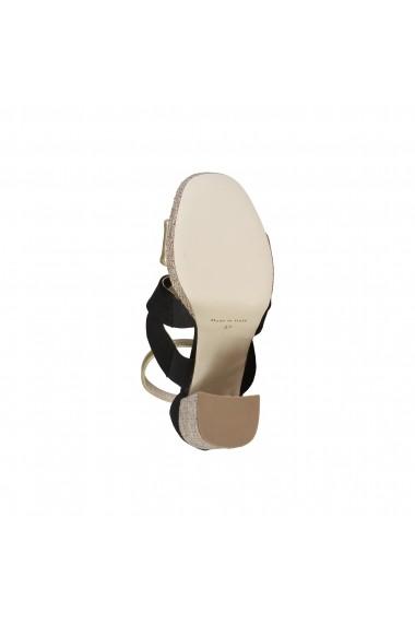 Sandale Made in Italia OFELIA CAMOSCIO NERO negru
