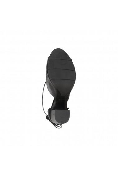 Sandale Made in Italia AMALIA NERO ARGENTO argintiu