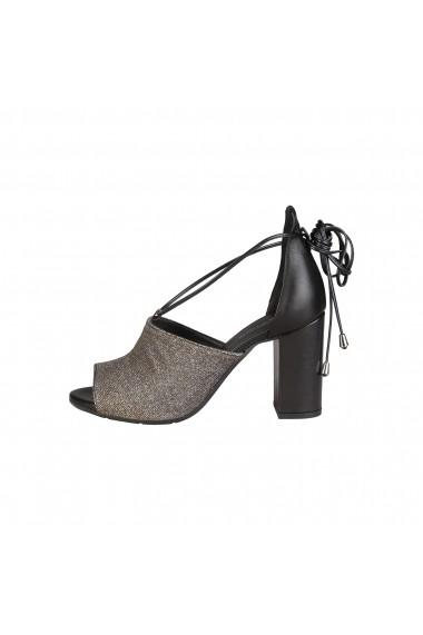 Sandale Made in Italia AMALIA NERO BRONZO ARGENTO argintiu