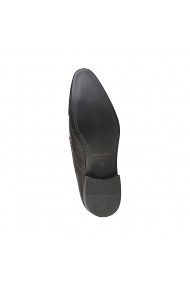Pantofi Versace 1969 GERALD GRIGIO NERO negru