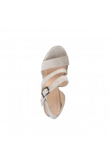 Sandale cu toc V1969 OLIVIA PIUMA alb - els