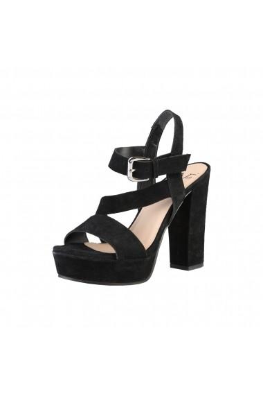 Sandale cu toc Versace 1969 LISON NERO