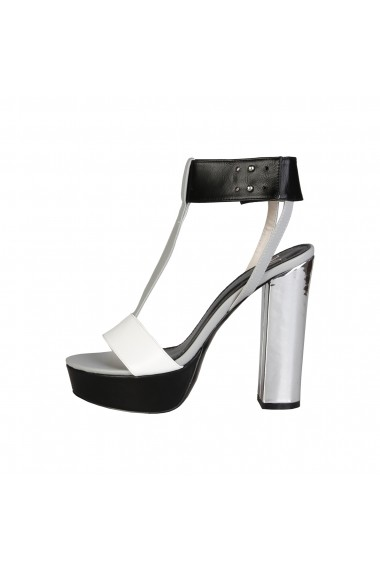 Sandale Versace 1969 MELISANDE BIANCO-NERO alb