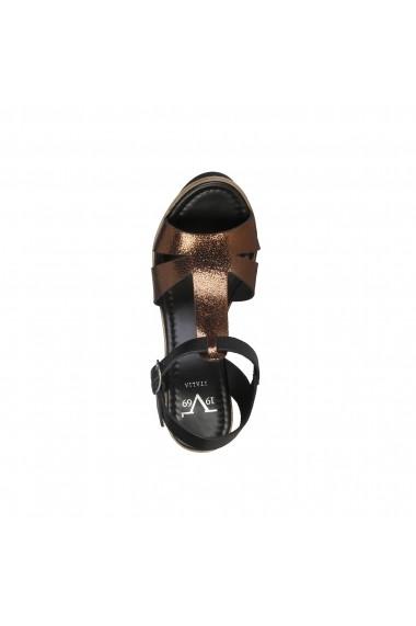 Sandale Versace 1969 EGLANTINE NERO BRONZO bronz