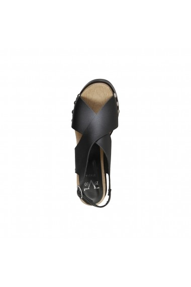 Sandale Versace 1969 DOROTHEE NERO negru