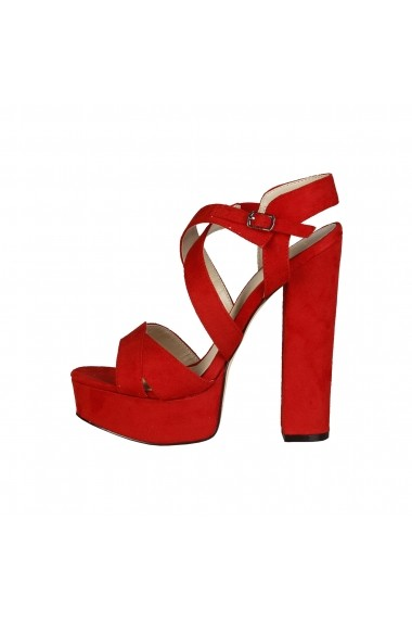 Sandale Versace 1969 DESIREE ROSSO rosu