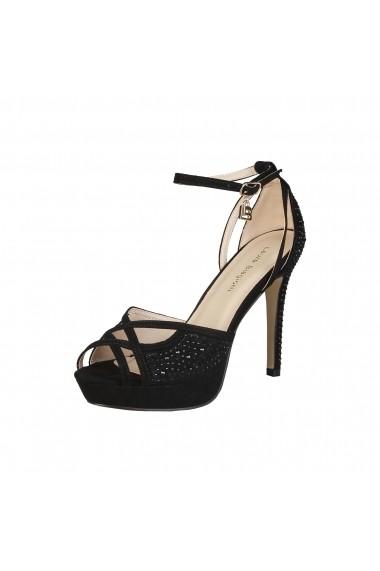Sandale Laura Biagiotti 423 CLOTH BLACK argintiu