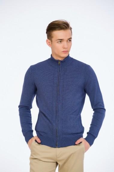 Jacheta denim cu fermoar pentru barbati marca Be You