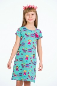Rochie turcoaz little princess marca Be You