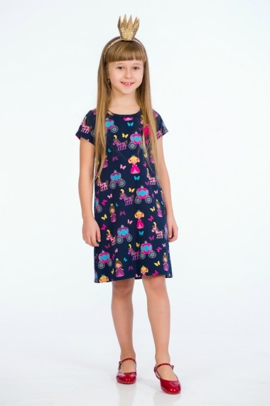 Rochie bleumarin little princess marca Be You