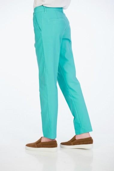 Pantaloni drepti Be You 3305 turcoaz