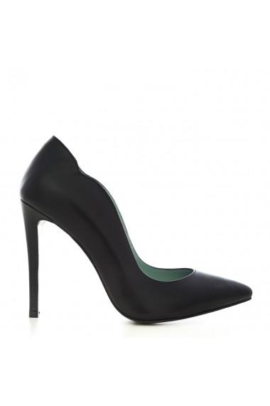 Pantofi cu toc pentru femei CONDUR by alexandru stiletto negri