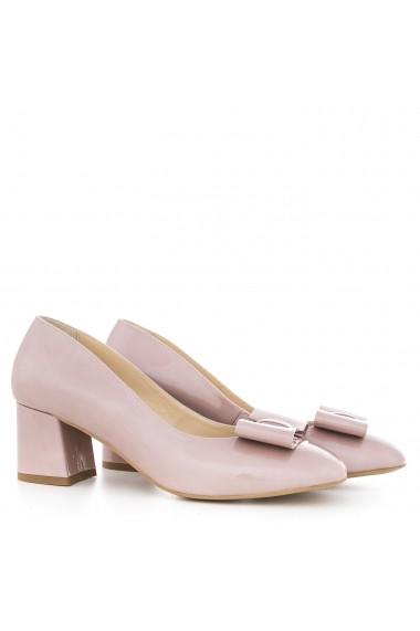 Pantofi cu toc pentru femei CONDUR by alexandru din lac nude cafe