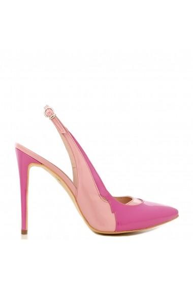 Pantofi decupati la spate CONDUR by alexandru din lac roz