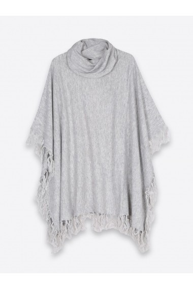 Poncho Top Secret SPN0058GB gri deschis