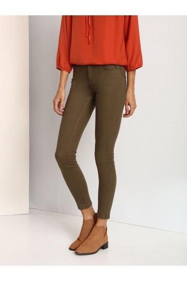 Pantaloni skinny Top Secret SSP2377ZI Verde