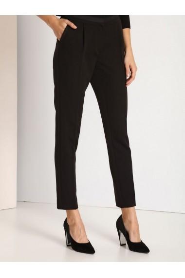 Pantaloni drepti Top Secret SSP2436CA negru