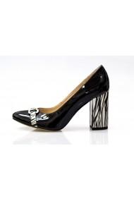 Pantofi pentru femei marca Thea Visconti din piele lacuita