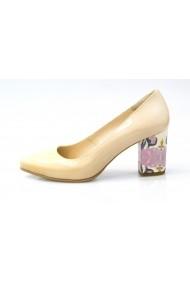 Pantofi cu toc Thea Visconti P 1134-143d-16 Crem
