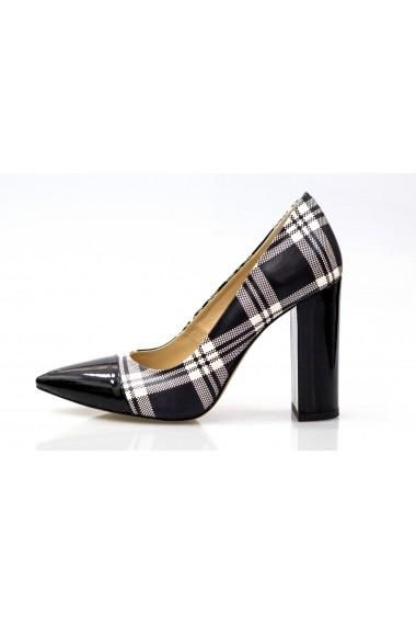 Pantofi cu toc Thea Visconti P 892-137a-16 Carouri
