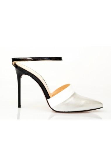 Pantofi cu toc-sandale Thea Visconti 1172 multicolori