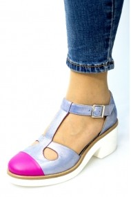 Pantofi cu toc Thea Visconti 1143 multicolori