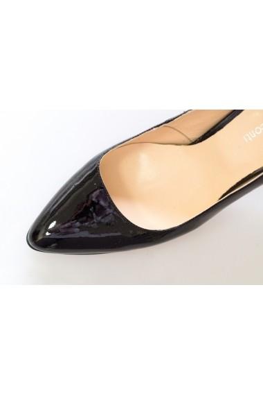 Pantofi cu toc Thea Visconti P 103-525-16T Negru