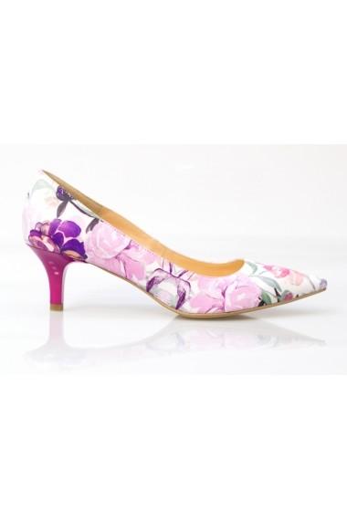 Pantofi cu toc Thea Visconti P 223-17-078 Floral