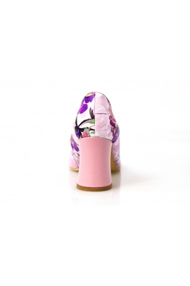 Pantofi Thea Visconti cu bujori