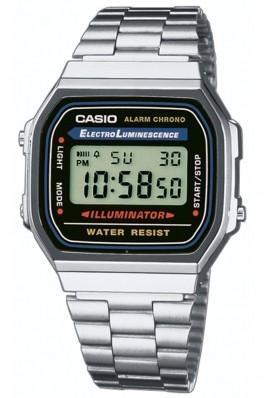 Ceas Casio Vintage A168WA-1YES multifunctional, cu display digital