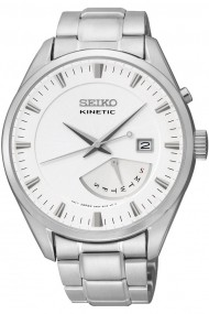 Ceas Seiko Kinetic cu cadran alb SRN043P1