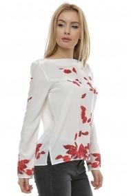 Bluza cu imprimeu petale trandafir B100 Print