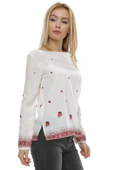 Bluza cu imprimeu floral b102