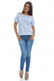 Blugi Roh Boutique Skiny - TR148 denim