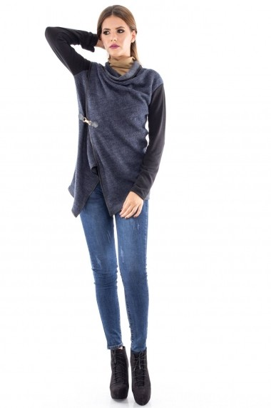 Cardigan Roh Boutique trendy - JR244 denim