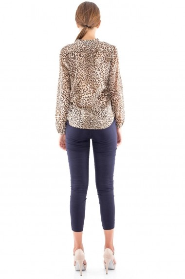 Camasa Roh Boutique animal print - BR1105 multicolor