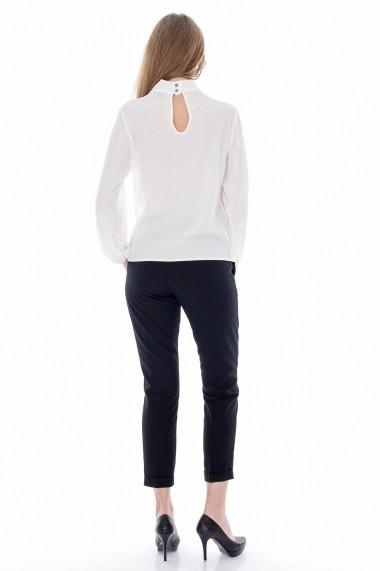 Bluza Roh Boutique din voal - BR907 crem