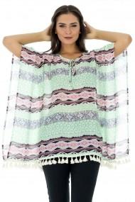 Bluza Roh Boutique stil fluture - BR793 Verde