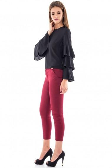 Bluza Roh Boutique eleganta - BR1090 Neagra