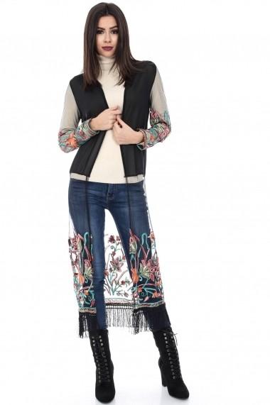 Kimono Roh Boutique BR1002 Negru