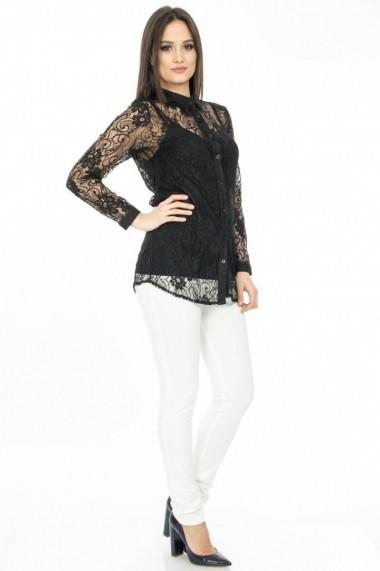Camasa Roh Boutique BR678 Neagra