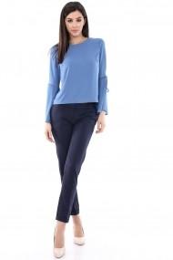 Bluza Roh Boutique denim eleganta - BR1223 denim