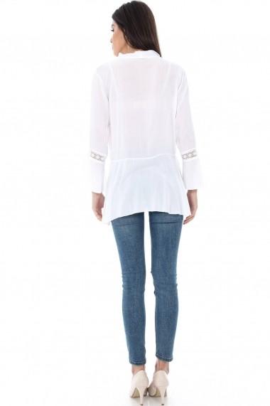 Bluza Roh Boutique Alba cu dantela - BR1302 Alba One Size
