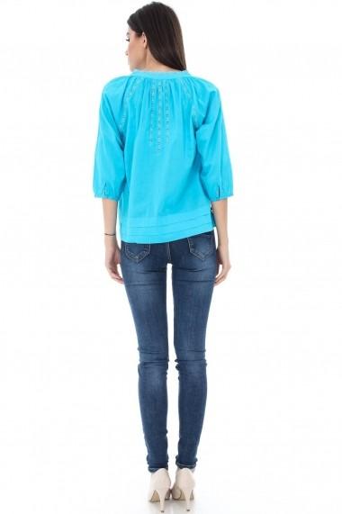 Bluza Roh Boutique BR1300 Turcoaz