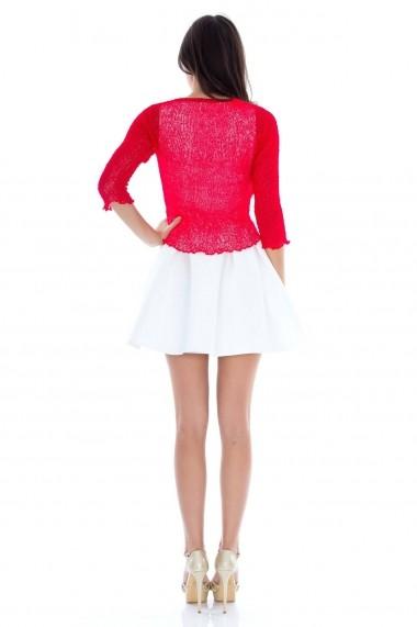 Bolero Roh Boutique handmade - BR864 rosu One Size
