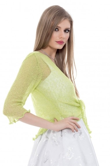 Bolero Roh Boutique verde - BR960 verde One Size