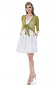Bolero Roh Boutique khaki - BR962 khaki One Size