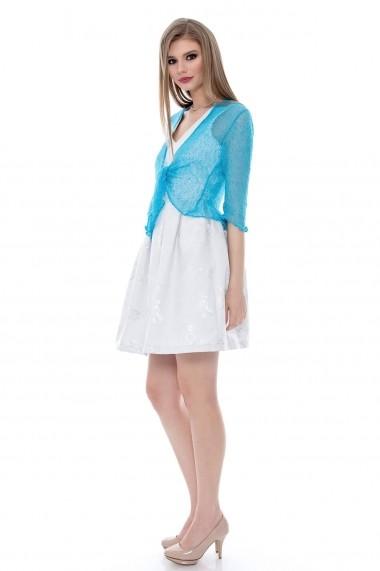 Bolero Roh Boutique albastru - BR958 albastru