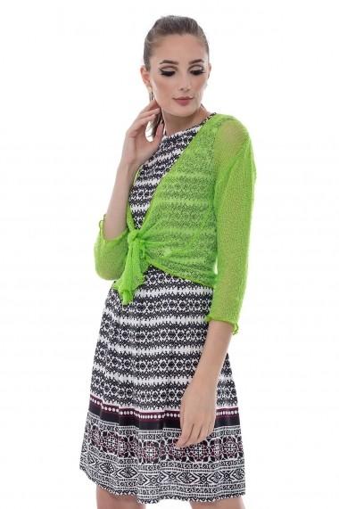 Bolero Roh Boutique verde neon - BR957 verde One Size