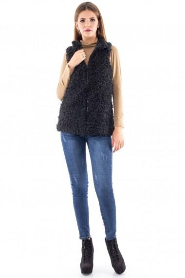 Vesta Roh Boutique pufoasa - JR242 negru